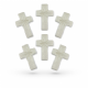 PME Sugar Decorations: Pearl Crosses (pack of 6)